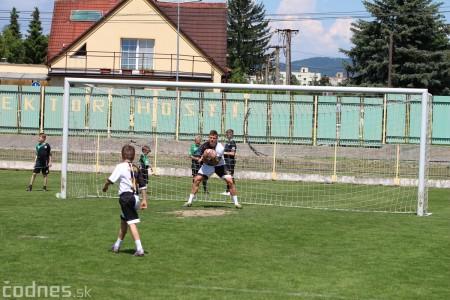 Foto a video: 100 rokov futbalu v Prievidzi veľkolepé oslavy a exhibičný zápas ŠKRŤO tím vs KUCO tím 67