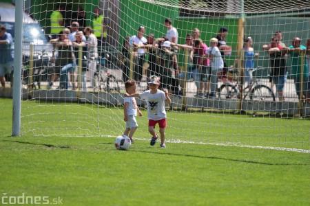 Foto a video: 100 rokov futbalu v Prievidzi veľkolepé oslavy a exhibičný zápas ŠKRŤO tím vs KUCO tím 74