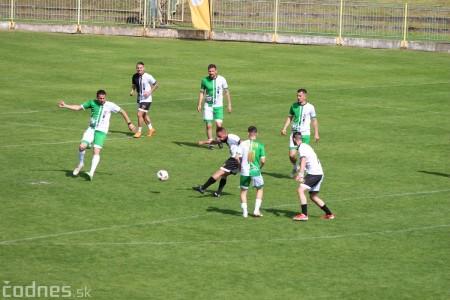 Foto a video: 100 rokov futbalu v Prievidzi veľkolepé oslavy a exhibičný zápas ŠKRŤO tím vs KUCO tím 83