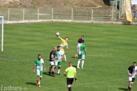 Foto a video: 100 rokov futbalu v Prievidzi veľkolepé oslavy a exhibičný zápas ŠKRŤO tím vs KUCO tím 84