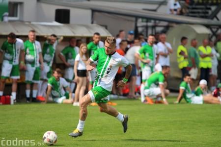 Foto a video: 100 rokov futbalu v Prievidzi veľkolepé oslavy a exhibičný zápas ŠKRŤO tím vs KUCO tím 87