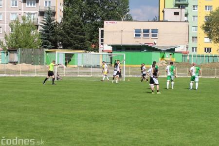 Foto a video: 100 rokov futbalu v Prievidzi veľkolepé oslavy a exhibičný zápas ŠKRŤO tím vs KUCO tím 90