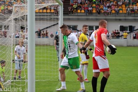 Foto a video: 100 rokov futbalu v Prievidzi veľkolepé oslavy a exhibičný zápas ŠKRŤO tím vs KUCO tím 99