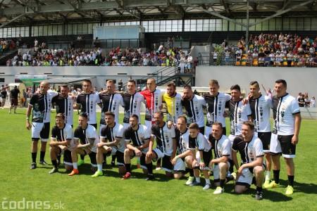 Foto a video: 100 rokov futbalu v Prievidzi veľkolepé oslavy a exhibičný zápas ŠKRŤO tím vs KUCO tím 102