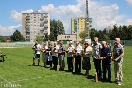 Foto a video: 100 rokov futbalu v Prievidzi veľkolepé oslavy a exhibičný zápas ŠKRŤO tím vs KUCO tím 103