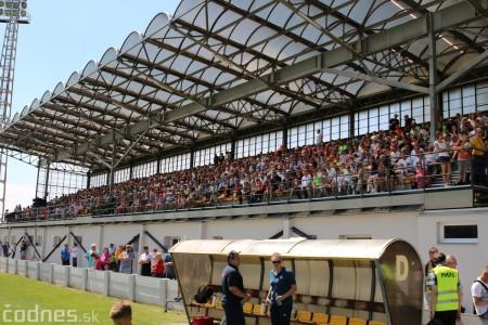 Foto a video: 100 rokov futbalu v Prievidzi veľkolepé oslavy a exhibičný zápas ŠKRŤO tím vs KUCO tím 105