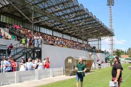 Foto a video: 100 rokov futbalu v Prievidzi veľkolepé oslavy a exhibičný zápas ŠKRŤO tím vs KUCO tím 106