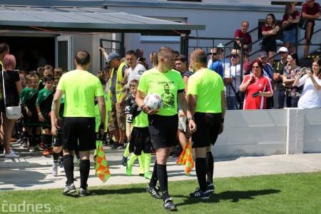 Foto a video: 100 rokov futbalu v Prievidzi veľkolepé oslavy a exhibičný zápas ŠKRŤO tím vs KUCO tím 107