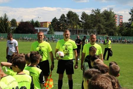 Foto a video: 100 rokov futbalu v Prievidzi veľkolepé oslavy a exhibičný zápas ŠKRŤO tím vs KUCO tím 108