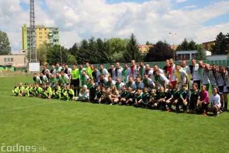 Foto a video: 100 rokov futbalu v Prievidzi veľkolepé oslavy a exhibičný zápas ŠKRŤO tím vs KUCO tím 109