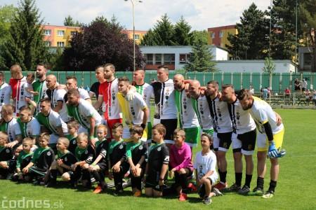 Foto a video: 100 rokov futbalu v Prievidzi veľkolepé oslavy a exhibičný zápas ŠKRŤO tím vs KUCO tím 110