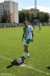 Foto a video: 100 rokov futbalu v Prievidzi veľkolepé oslavy a exhibičný zápas ŠKRŤO tím vs KUCO tím 111