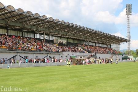 Foto a video: 100 rokov futbalu v Prievidzi veľkolepé oslavy a exhibičný zápas ŠKRŤO tím vs KUCO tím 115