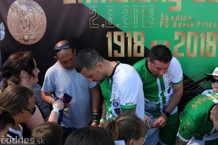 Foto a video: 100 rokov futbalu v Prievidzi veľkolepé oslavy a exhibičný zápas ŠKRŤO tím vs KUCO tím 116
