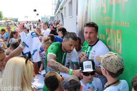 Foto a video: 100 rokov futbalu v Prievidzi veľkolepé oslavy a exhibičný zápas ŠKRŤO tím vs KUCO tím 118