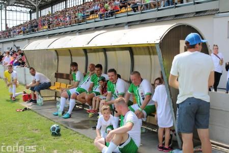 Foto a video: 100 rokov futbalu v Prievidzi veľkolepé oslavy a exhibičný zápas ŠKRŤO tím vs KUCO tím 120