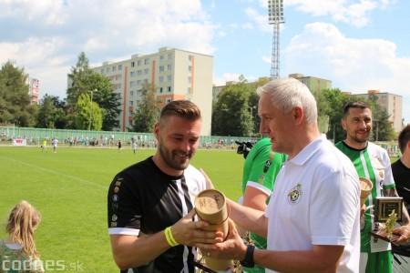 Foto a video: 100 rokov futbalu v Prievidzi veľkolepé oslavy a exhibičný zápas ŠKRŤO tím vs KUCO tím 125