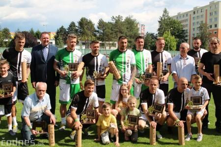 Foto a video: 100 rokov futbalu v Prievidzi veľkolepé oslavy a exhibičný zápas ŠKRŤO tím vs KUCO tím 126