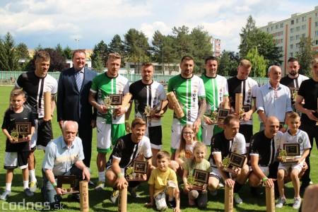 Foto a video: 100 rokov futbalu v Prievidzi veľkolepé oslavy a exhibičný zápas ŠKRŤO tím vs KUCO tím 127