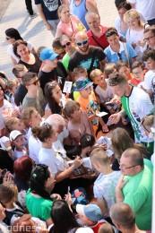 Foto a video: 100 rokov futbalu v Prievidzi veľkolepé oslavy a exhibičný zápas ŠKRŤO tím vs KUCO tím 130