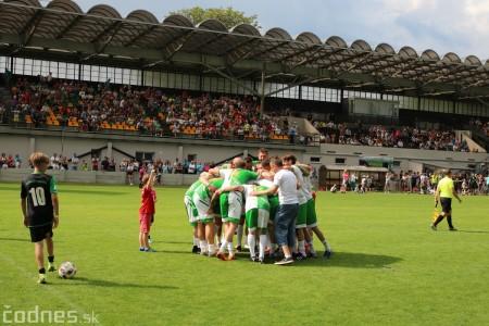 Foto a video: 100 rokov futbalu v Prievidzi veľkolepé oslavy a exhibičný zápas ŠKRŤO tím vs KUCO tím 135