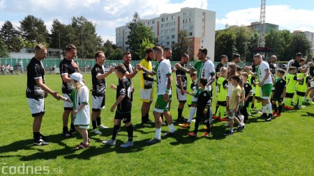 Foto a video: 100 rokov futbalu v Prievidzi veľkolepé oslavy a exhibičný zápas ŠKRŤO tím vs KUCO tím 143