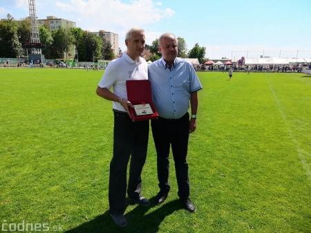 Foto a video: 100 rokov futbalu v Prievidzi veľkolepé oslavy a exhibičný zápas ŠKRŤO tím vs KUCO tím 148