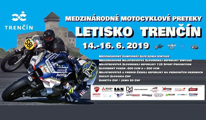 Medzinárodné motocyklové preteky Letisko Trenčín