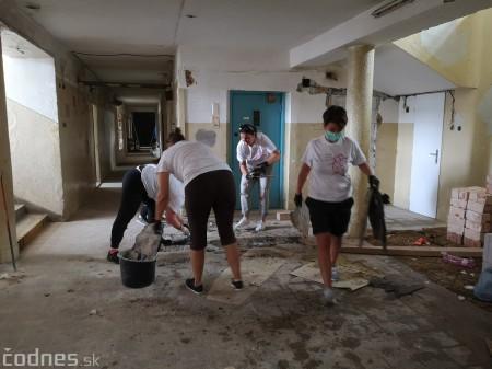 Foto: Firma Brose sa zapojila do týždňa dobrovoľníctva v Galérii Jabloň. Možno vďaka ním otvoria skôr 15