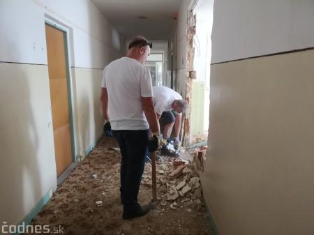 Foto: Firma Brose sa zapojila do týždňa dobrovoľníctva v Galérii Jabloň. Možno vďaka ním otvoria skôr 16