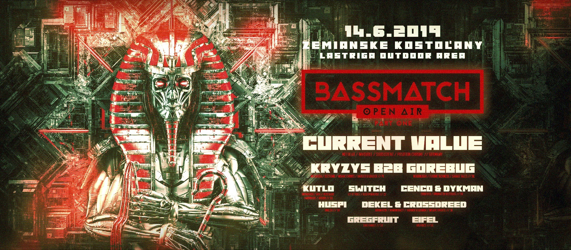 Bassmatch Open Air - Part One /14.6.2019/ Lastriga Outdoor Area