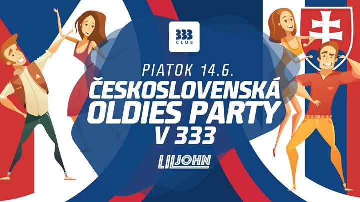 ☆ ČeskoSlovenská Oldies Párty v 333 ☆ 14.6.