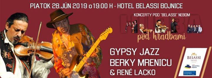 Gypsy jazz Berky Mrenicu & René Lacko