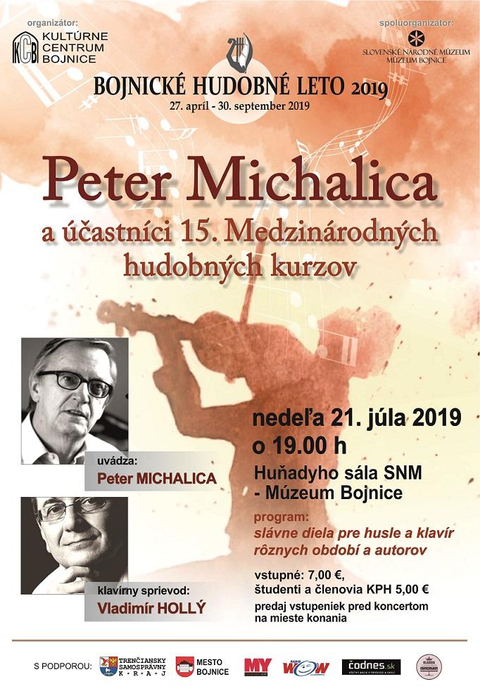 PETER MICHALICA A ÚČASTNÍCI 15. MEDZINÁRODNÝCH HUDOBNÝCH KURZOV