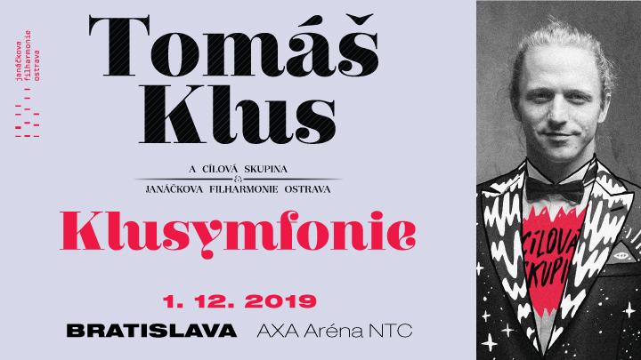 Turné KLUSYMFONIE 2019: Tomáš Klus, Cílová skupina a Janáčkova filharmónia