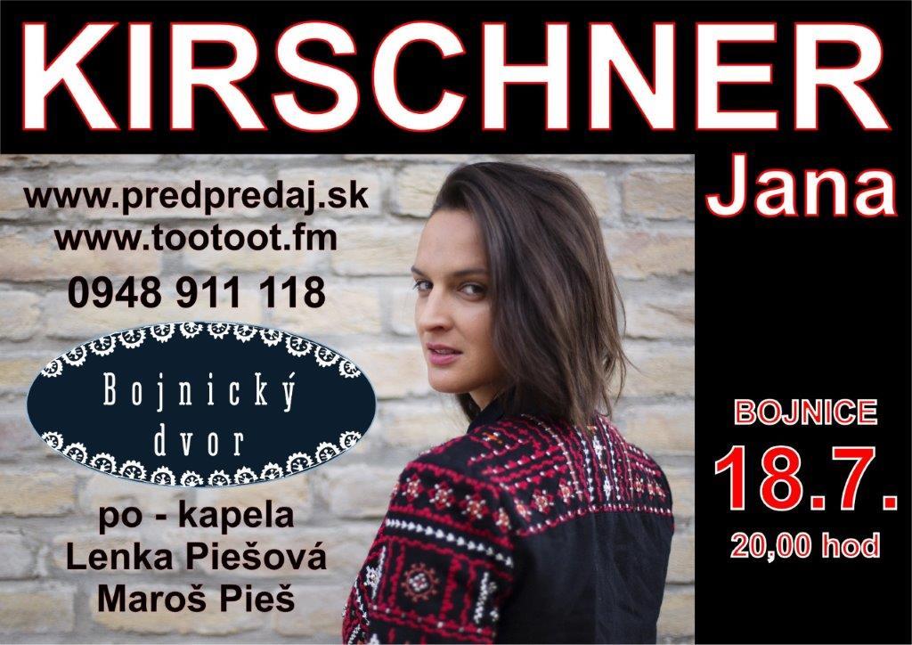 Jana KIRSCHNER - Bojnice 2019