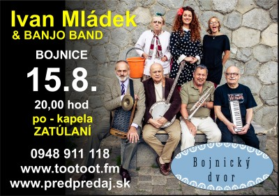 Ivan MLÁDEK & Banjo Band - Bojnice 2019