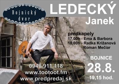 Janek LEDECKÝ - Bojnice 2019