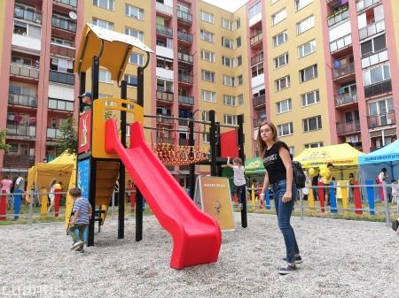 Foto: Slávnostné otvorenie detského ihriska Žihadielko - Prievidza 36