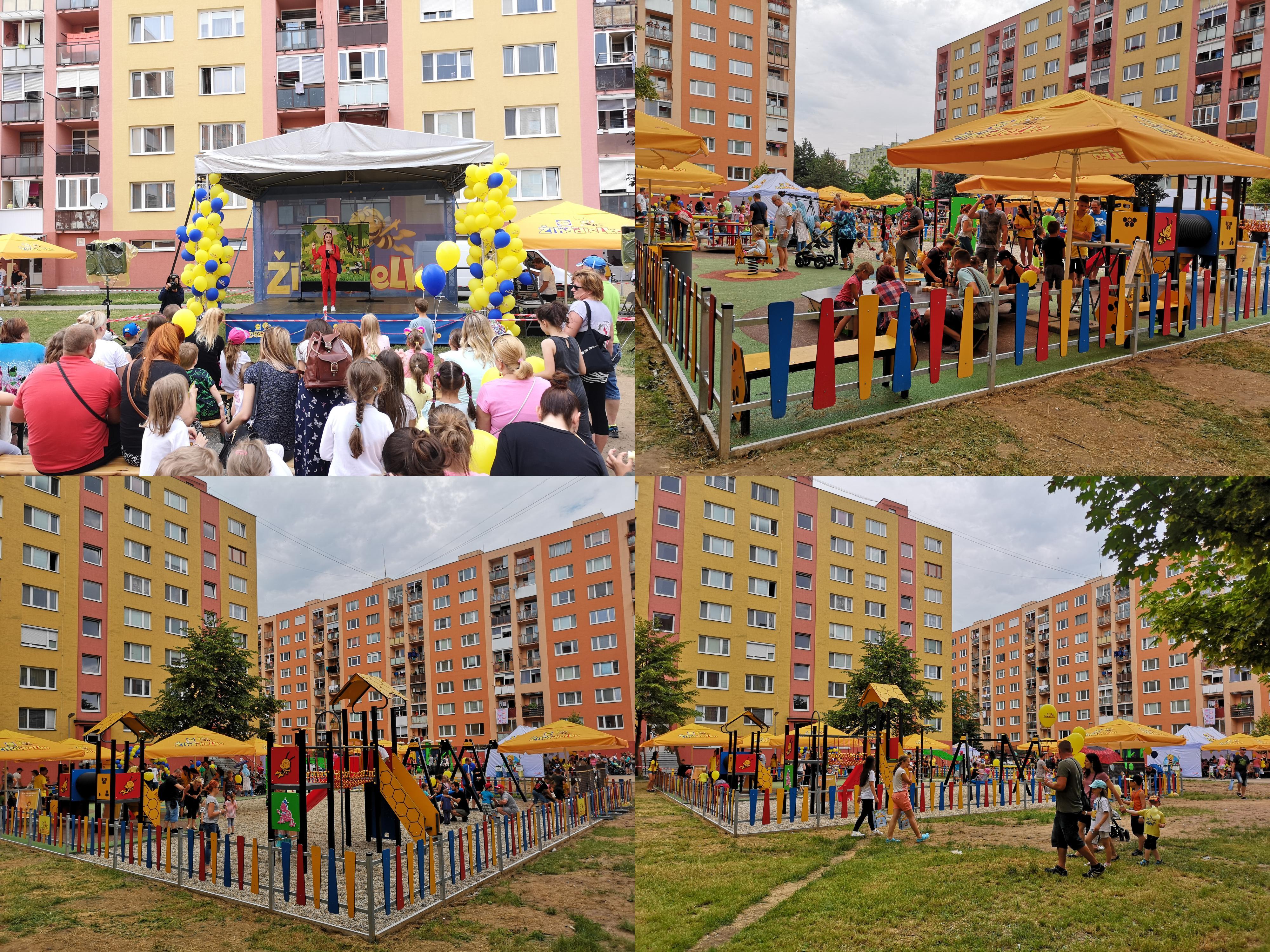Foto: Slávnostné otvorenie detského ihriska Žihadielko - Prievidza