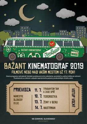 Bažant kinematograf 2019