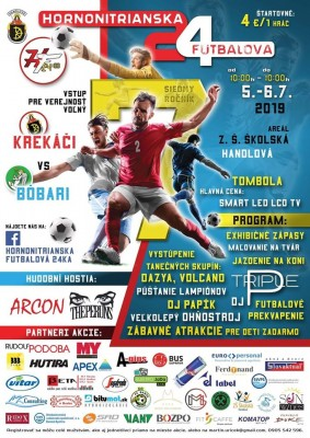 Hornonitrianska Futbalová 24ka Krekači vs Bôbari