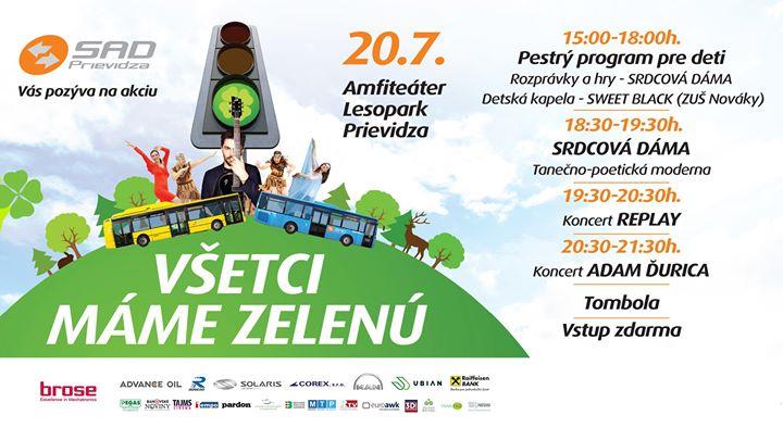 Všetci Máme Zelenú 2019 - Lesopark Prievidza