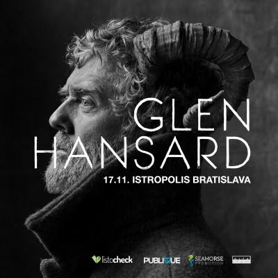 Glen Hansard zahrá v Bratislave v deň výročia nežnej revolúcie