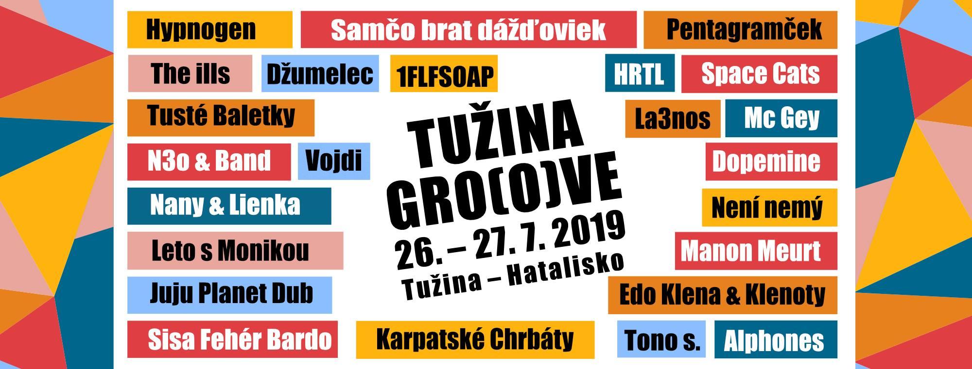 Tužina Groove 2019 - kompletný program