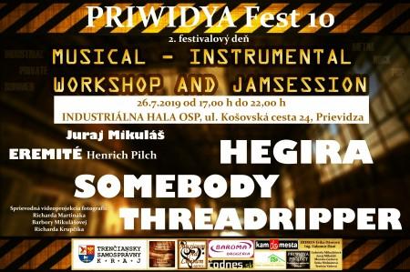 PRIWIDYA Fest 10 - 3. deň desiateho ročníka tradičného, umelecko – multižánrového festivalu 2