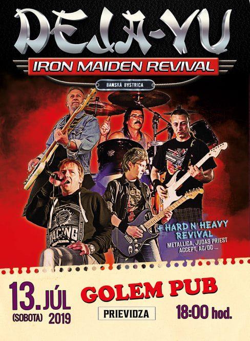Iron Maiden revival DEJA-VU