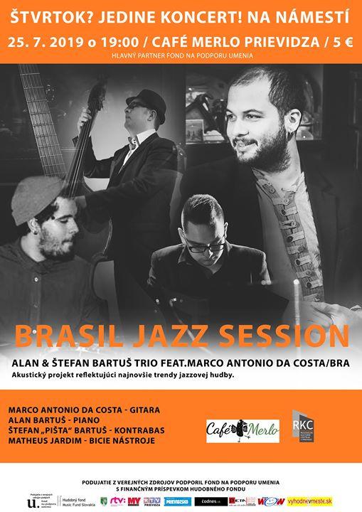 Štvrtok? Jedine koncert! na námestí - Brasil Jazz Session