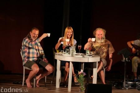 """Foto: Jaroslav Dušek - Talk show """"PODOBY LÁSKY"""" + Piata dohoda - Prievidza 2019 15"""