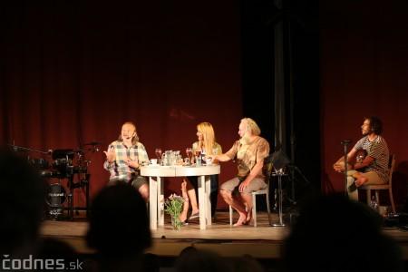 """Foto: Jaroslav Dušek - Talk show """"PODOBY LÁSKY"""" + Piata dohoda - Prievidza 2019 16"""